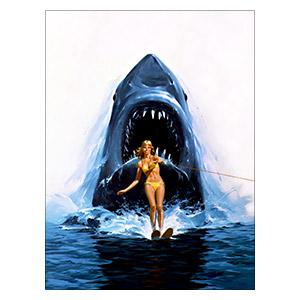 Jaws. Размер: 30 х 40 см